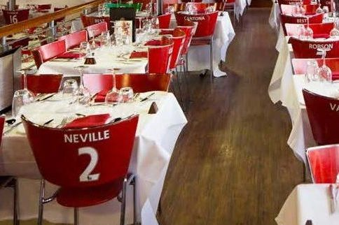 Restaurant in Old Trafford © Manchester United Football Club