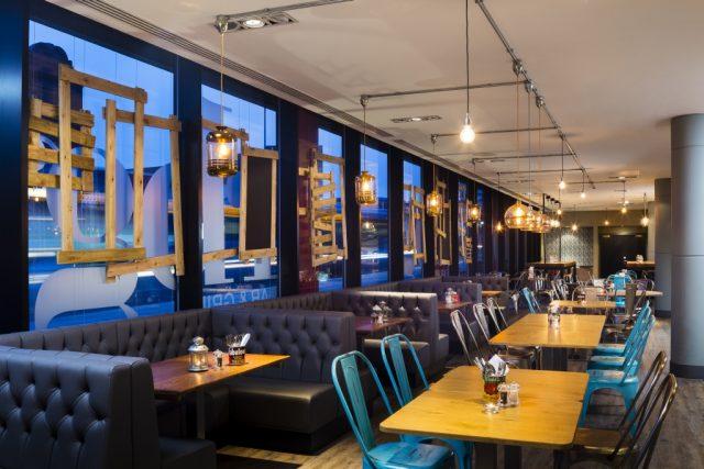 Restaurant at Park Inn Manchester City Centre